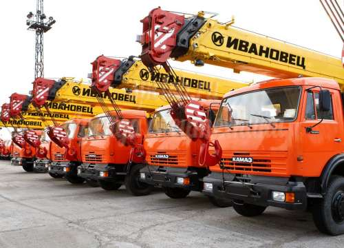 Автокран 16 тонн 22 метра