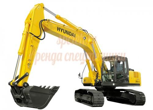Экскаватор Hitachi, hyundai